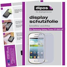 Samsung Galaxy Fame GT-S6810P Protector de Pantalla transparente