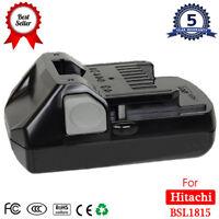 For Hitachi BSL1815S 18V HXP Li-Ion Battery BSL1830 BSL1815X BSL1825 DV18DSFL