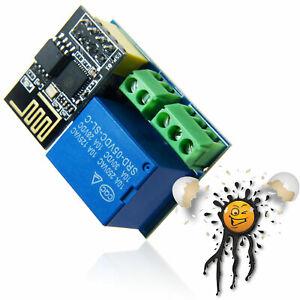 Tasmota IoT ESP8266 WLan Wifi HTTP ioBroker FHEM MQTT 5V Relais Modul smart home