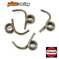 Reds Racing 1.0mm Off-Road Quattro Clutch Springs V2 (4) 1/8 Buggy REDMUQU0023