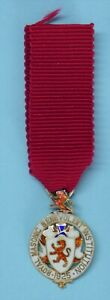 Masonic Miniature Silver Stewards Jewel for Royal Masonic Benevolent Fund 1925