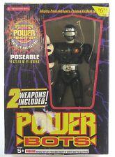 Masterbotix Power Bots Black Jack Figure Vintage 1994 MIB Trendmasters