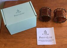 Partylite Set of 2 Moroccan Spice Beaded Tealight Rings P7978 Missing Part New