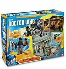 BBC, DOCTOR WHO Into The DALEK Time Zone & Figure Collection 5 x Action Figures