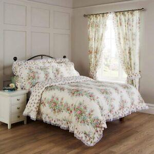 Vantona Spring Bouquet Floral Duvet Cover Set,Bedspread &Curtain-Sold Separately