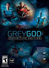 GREY GOO DEFINITIVE EDITION - Steam chiave key Gioco PC Game - ITALIANO - ROW