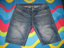 Jeans corti pantaloncini shorts uomo SNEAKER FREAK taglia M loose fit