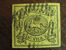 Braunschweig Mi.-Nr. 11A gest. - (A)