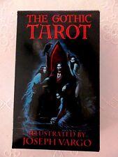 The Gothic Tarot by Joseph Vargo - Monolith  NEW