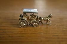 Vintage BERMUDA Sterling Silver HORSE DRAWN WAGON Charm