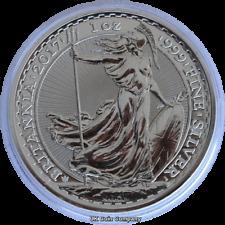 2017 Britannia Royal Mint 1 oz Fine Silver £2 Two Pounds Coin