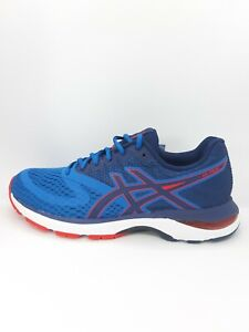 Asics Gel Pulse 10 Mens Blue Running Trainers GYM Shoes  Size UK 7 EUR 41.5 NEW