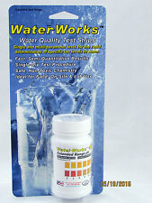 Extended Range pH Test Strips for Well Water & Drinking Water, 50 Tests