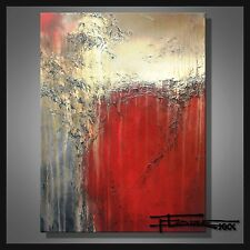 Abstract Modern PAINTING Canvas Wall Art Large Signed FRAMED USA ELOISExxx