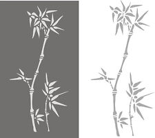 Stupfschablonen, Wandschablone, Malerschablonen, Dekorschablone, Stencil, Bambus