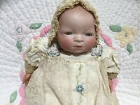 Bye-Lo baby doll with porcelain head, antique by Grace S. Putnam. GUC