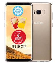 Samsung Galaxy S8 G950FD 64GB DUAL SIM/ Factory Unlocked (Gold) + UK Warranty