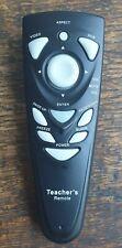 Original Hitachi Teacher's Remote Control TR01 . for Media Projector. Excellent