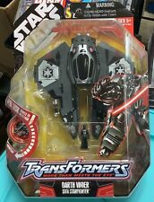 Star Wars Transformers Darth Vader Sith Starfighter New and Sealed