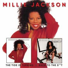 Millie Jackson The Tide Is Turning/Back To The S**t 2-CD NEW SEALED 2017
