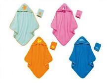 Baby Kinder Kapuzentuch mit Waschhandschuh Badetuch 100%Baumwoll Badetücher Neu