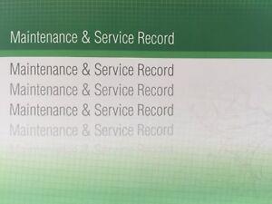 Jaguar Generic Replacement Car Service History Book New Handbook Blank G