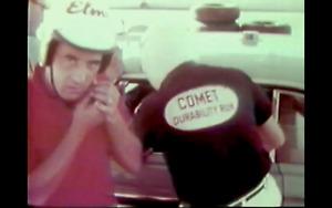 RARE ORIG Mercury Racing Team Comet Caliente 289 HP HiPo Daytona Pure Oil FoMoCo