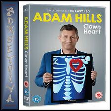 ADAM HILLS - CLOWN HEART LIVE  *BRAND NEW DVD **
