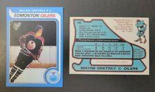 "1979 Wayne Gretzky RC ""REPRINT"" Novelty Card Mint Condition!"