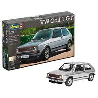 1:24 Scale Vw Golf 1 Gti Model Kit - Revell Car