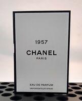 Les Exclusifs De Chanel 1957 1.5ml .05oz Eau De Parfum Carded Spray Sample Vial