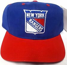NEW! NHL New York Rangers Embroidered Snap Back Cap