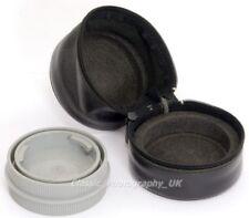En cuir Leica LEITZ étui souple 72x70mm pour Summicron-R SUMMILUX-R 1.4/50mm ELMAR