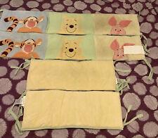Disney Baby 4 Piece Peeking Weenie The Pooh Crib Bumper Babies R Us Exclusive