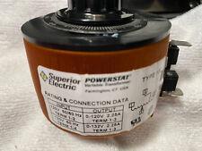 Powerstat 10c Variac 120 Vac Variable Transformer From Defunct Capacitor Plant