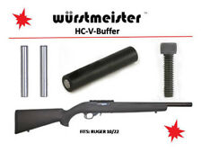 Set of 2 Hc-V-Buffer + Trigger Group Pins + Td Screw for Ruger 10/22 - Superior!