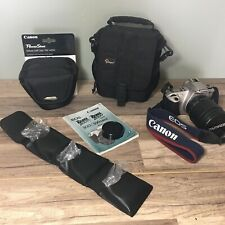 *LOT* Canon Camera Rebel Eos 2000 With Lenses And Camera Bags And Manuel