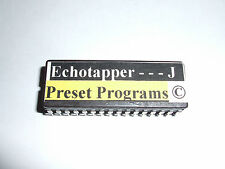 Alesis Quadraverb 2 ECHOTAPPER J 100 SHADOWS PRESETS EPROM Copyrighted
