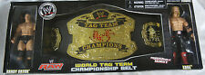 WWE Wrestling WORLD TAG CHAMPIONSHIP BELT & EDGE & RANDY ORTON NeW In Box JAAKS