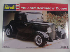 Revell Model Kit #85-7605 1/25 '32 Ford 3-Window Coupe Factory Sealed