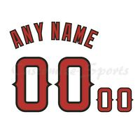 Los Angeles Angels of Anaheim Customized Number Kit for White Home Jersey