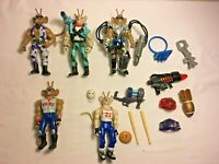 Job Lot Bundle Vintage Biker Mice From Mars Figures