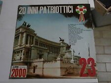 Lp 20 Inni Patriottici serie Niagara 23 banda militare coro direttore M° M.Ricci