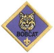 Cub Scout BOBCAT RANK Award Merit Badge Patch Boy Scout BSA