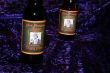 MRS BROWNS BOYS BEER LABELS  TV series episode gift booze GREEN SMALL X6