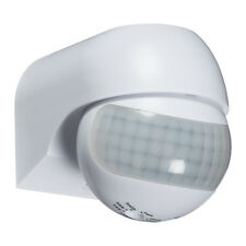 Knightsbridge IP44 180° Mini PIR Sensor White x1