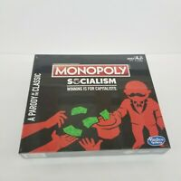 Monopoly Socialism Winning Is For Capitalists Parody Of The Classic New Sealed