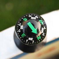 Mini Car Auto Dashboard Boat Truck Suction Pocket Navigation Compass Ball Mount,