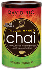 David Rio Toucan Mango Chai 398g in der Dose mit schwarzem Tee Chaitee