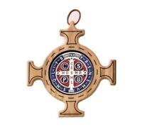 Medalla Cruz De San Benito En Olivo Nacional CM 20 X 20